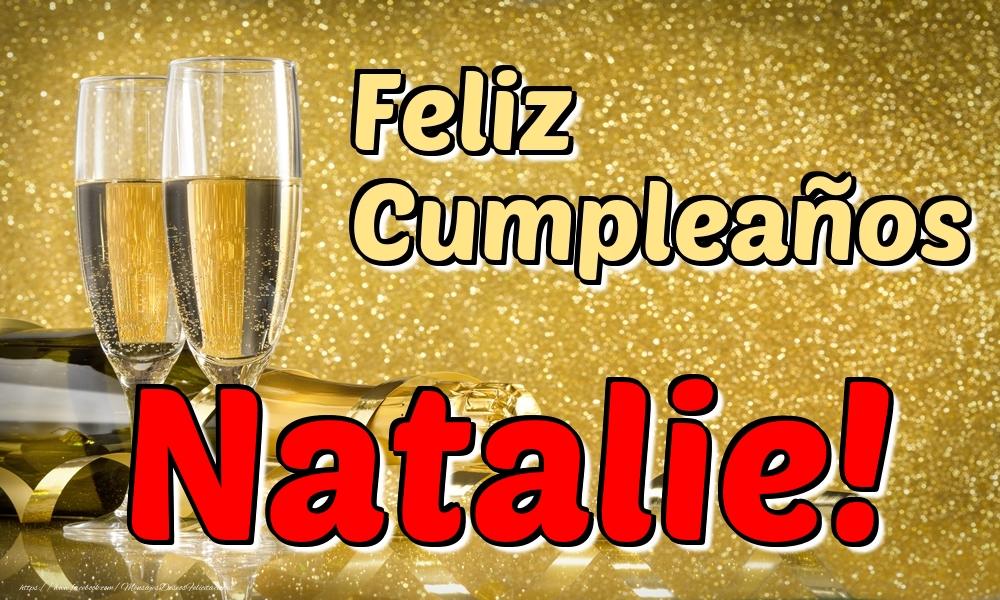 Felicitaciones de cumpleaños - Feliz Cumpleaños Natalie!