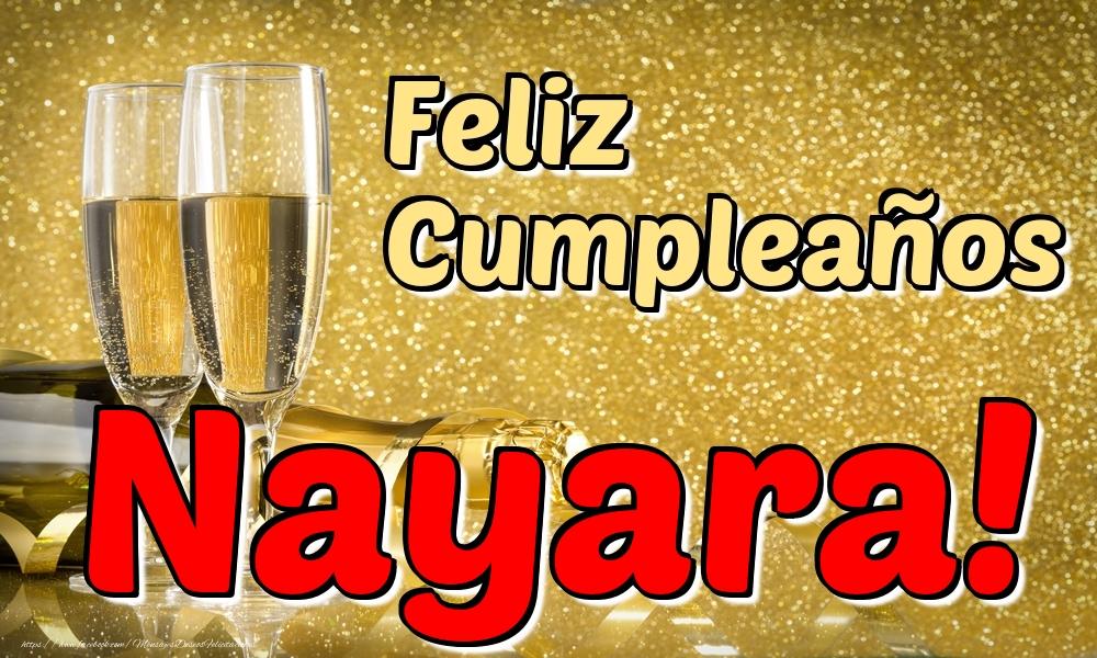 Felicitaciones de cumpleaños - Feliz Cumpleaños Nayara!