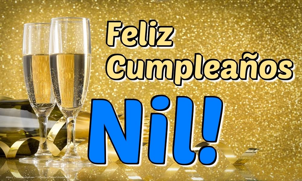 Felicitaciones de cumpleaños - Feliz Cumpleaños Nil!