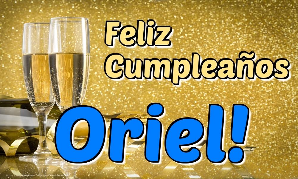 Felicitaciones de cumpleaños - Feliz Cumpleaños Oriel!