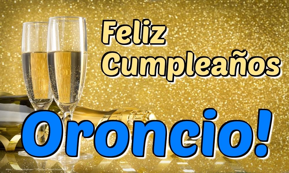Felicitaciones de cumpleaños - Feliz Cumpleaños Oroncio!