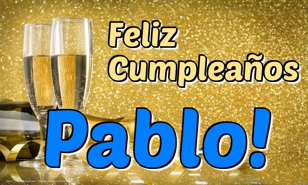 Felicitaciones de cumpleaños - Feliz Cumpleaños Pablo!