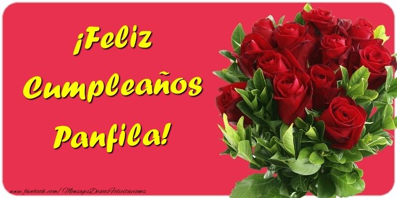 Felicitaciones de cumpleaños - ¡Feliz Cumpleaños Panfila