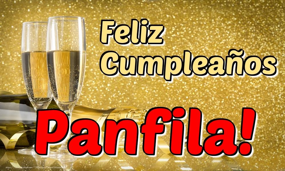 Felicitaciones de cumpleaños - Feliz Cumpleaños Panfila!