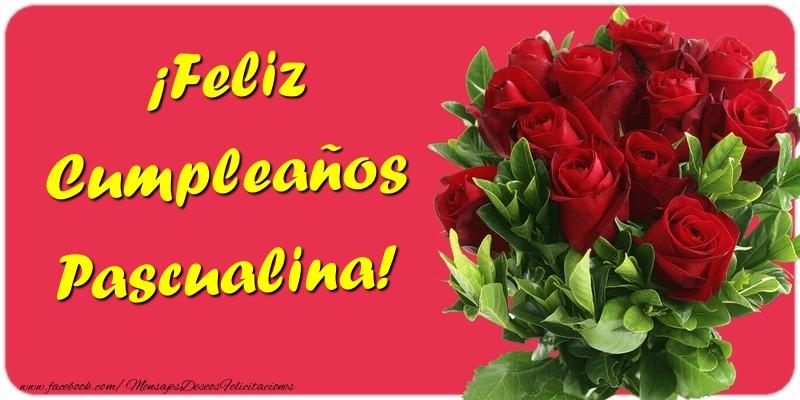 Felicitaciones de cumpleaños - ¡Feliz Cumpleaños Pascualina