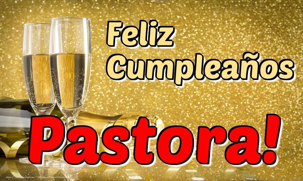 Felicitaciones de cumpleaños - Feliz Cumpleaños Pastora!