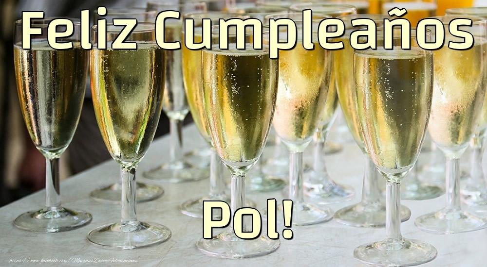 Felicitaciones de cumpleaños - Feliz Cumpleaños Pol!
