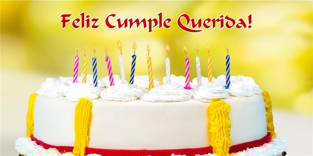 Felicitaciones de cumpleaños - Feliz Cumple Querida!