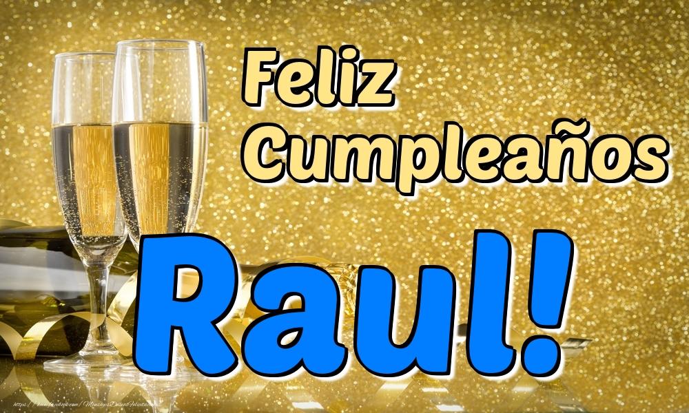 Felicitaciones de cumpleaños - Feliz Cumpleaños Raul!