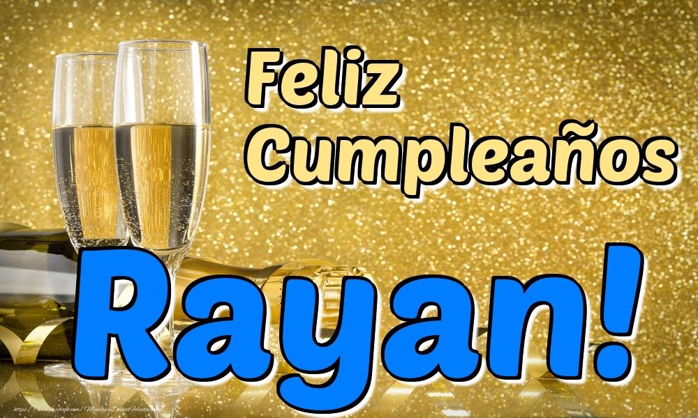 Felicitaciones de cumpleaños - Feliz Cumpleaños Rayan!