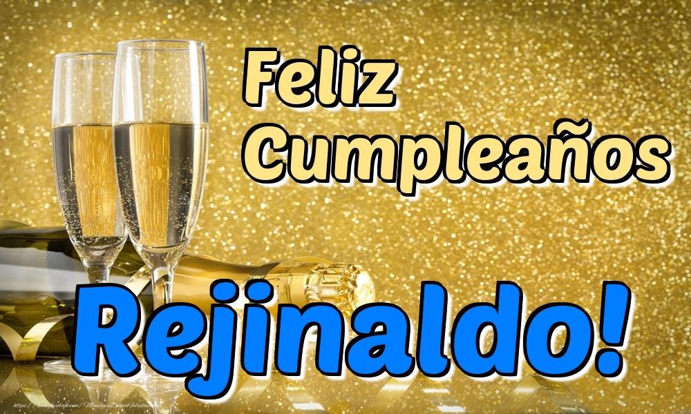 Felicitaciones de cumpleaños - Feliz Cumpleaños Rejinaldo!