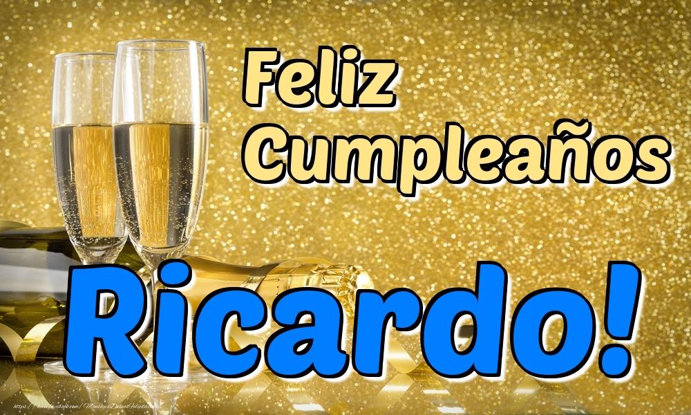 Felicitaciones de cumpleaños - Feliz Cumpleaños Ricardo!