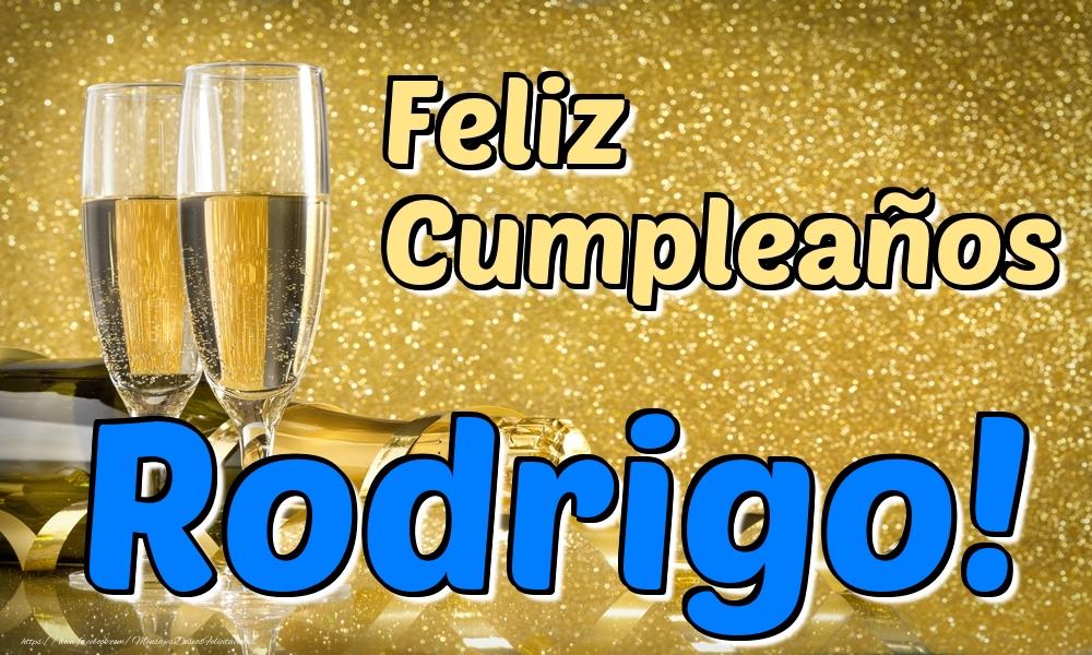 Felicitaciones de cumpleaños - Feliz Cumpleaños Rodrigo!