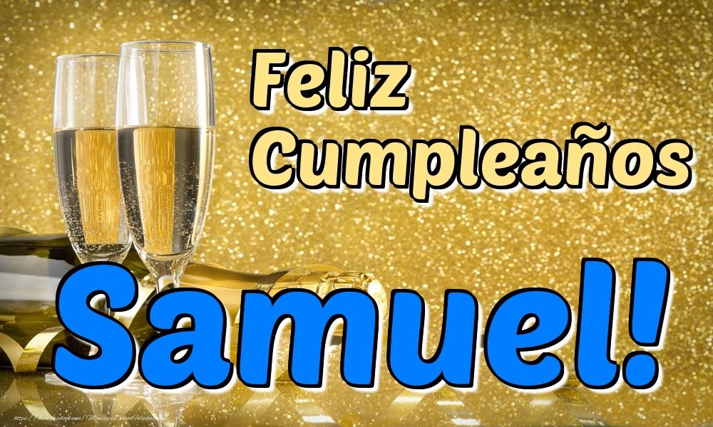 Felicitaciones de cumpleaños - Feliz Cumpleaños Samuel!