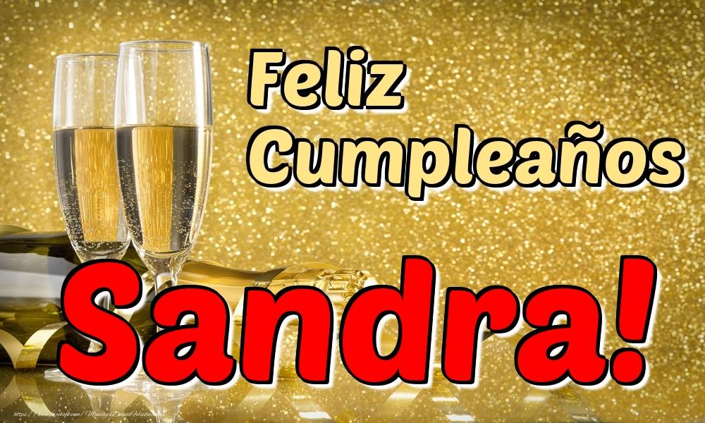 Felicitaciones de cumpleaños - Feliz Cumpleaños Sandra!