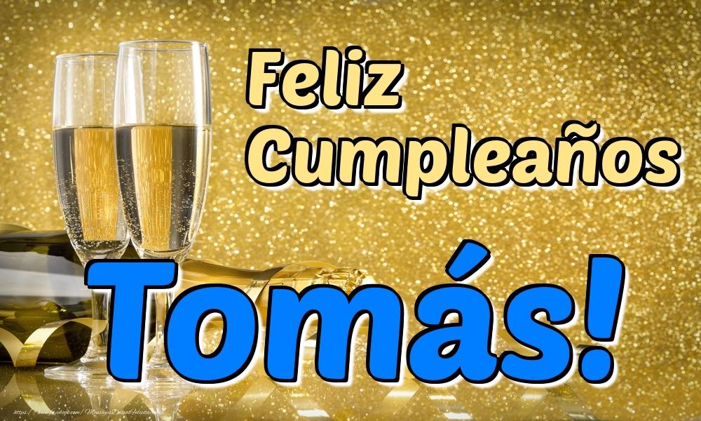 Felicitaciones de cumpleaños - Feliz Cumpleaños Tomás!