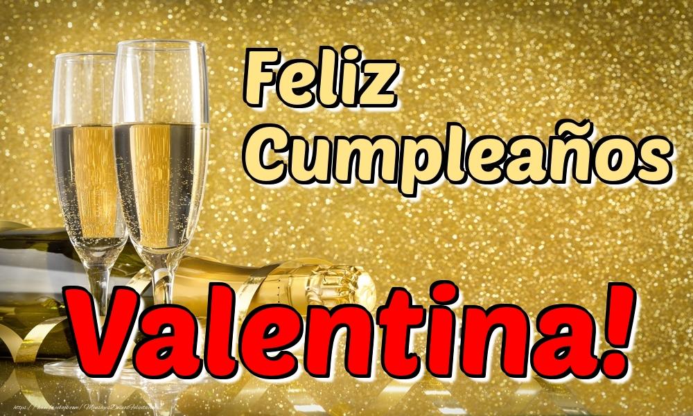 Felicitaciones de cumpleaños - Feliz Cumpleaños Valentina!