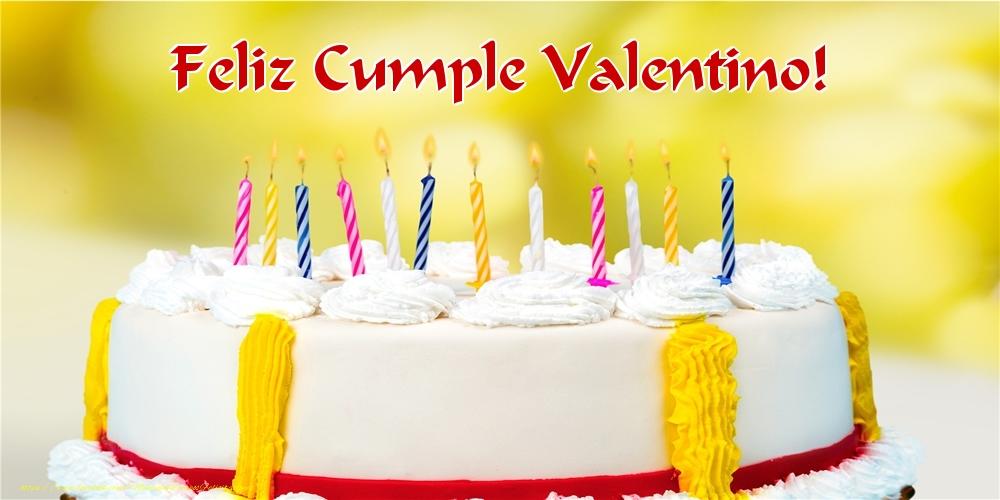Felicitaciones de cumpleaños - Feliz Cumple Valentino!