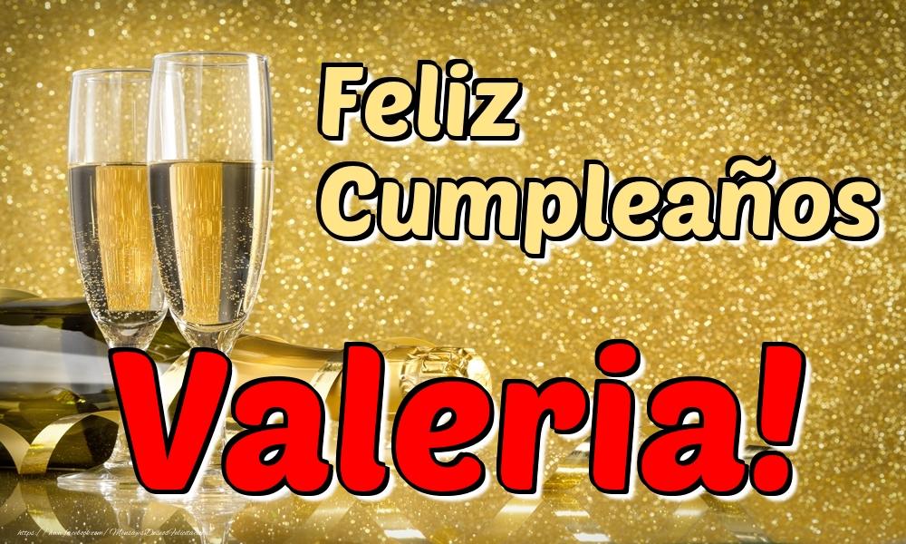 Felicitaciones de cumpleaños - Feliz Cumpleaños Valeria!