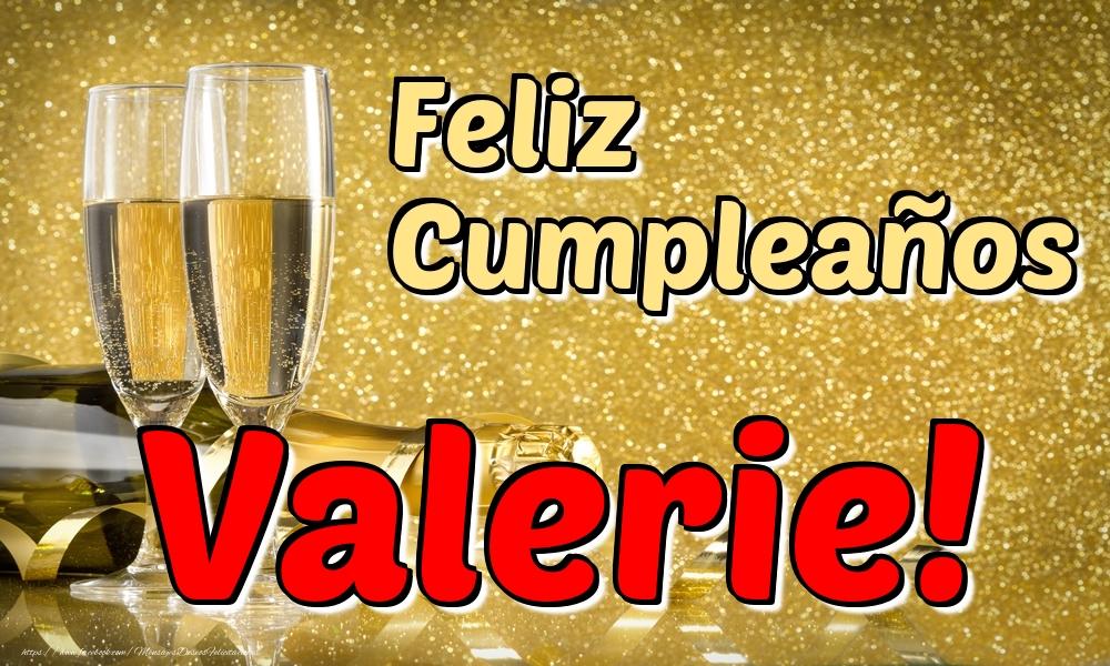 Felicitaciones de cumpleaños - Feliz Cumpleaños Valerie!