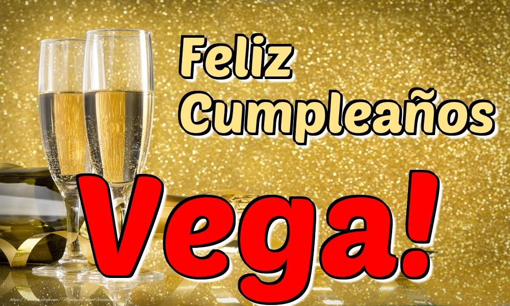 Felicitaciones de cumpleaños - Feliz Cumpleaños Vega!
