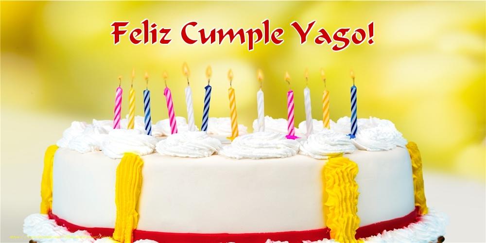 Felicitaciones de cumpleaños - Feliz Cumple Yago!