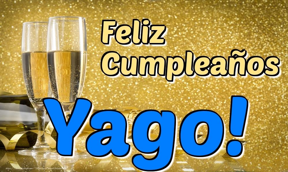 Felicitaciones de cumpleaños - Feliz Cumpleaños Yago!