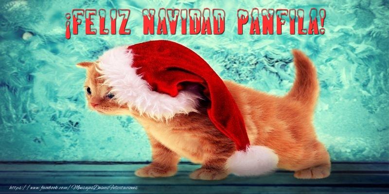 Felicitaciones de Navidad - ¡Feliz Navidad Panfila!