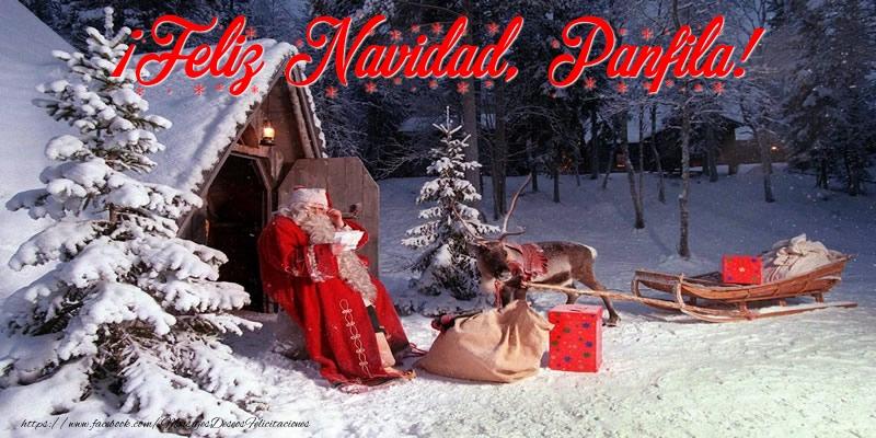 Felicitaciones de Navidad - ¡Feliz Navidad, Panfila!