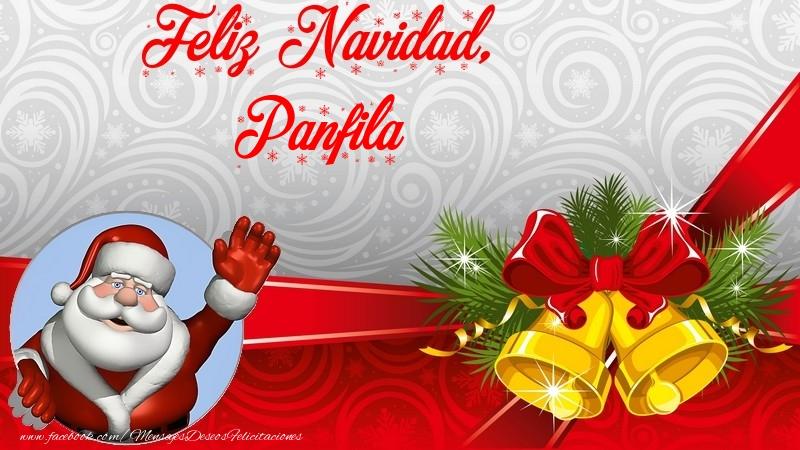 Felicitaciones de Navidad - Feliz Navidad, Panfila