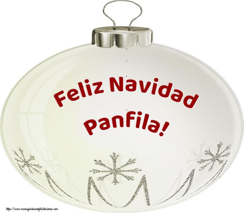 Felicitaciones de Navidad - Feliz Navidad Panfila!