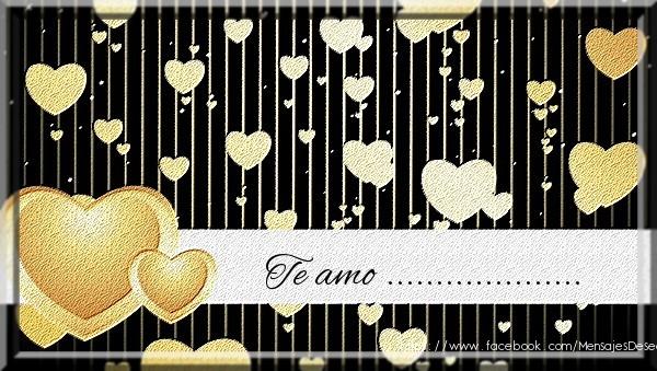Felicitaciones Personalizadas de amor - Te amo ...