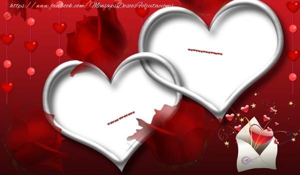 Felicitaciones Personalizadas de amor - ... ...