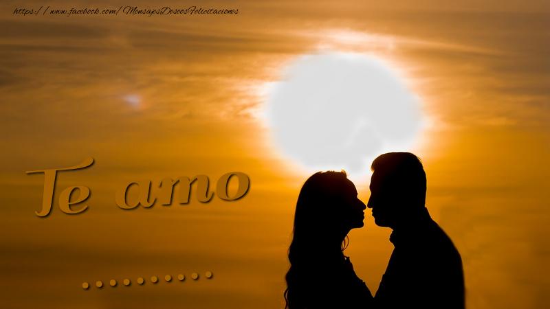Felicitaciones Personalizadas de amor - Te amo, ...!