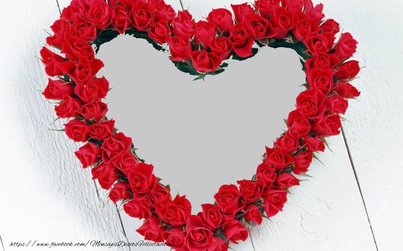 Felicitaciones Personalizadas de amor - Marco de fotos