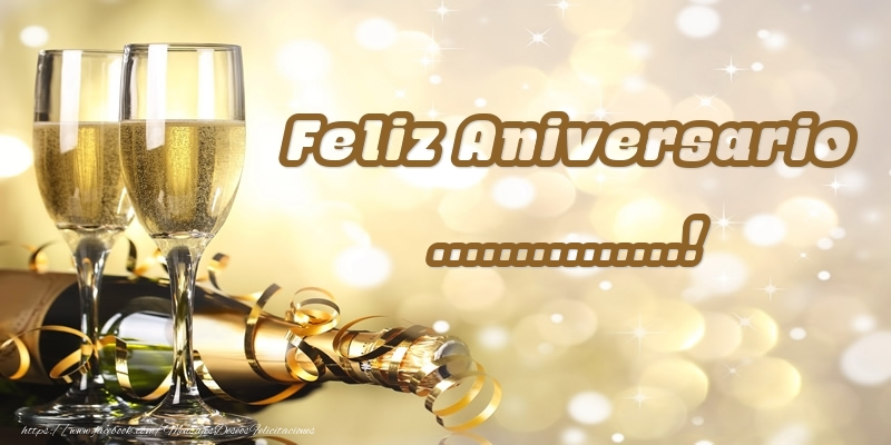 Felicitaciones Personalizadas de aniversario - Feliz Aniversario ...!