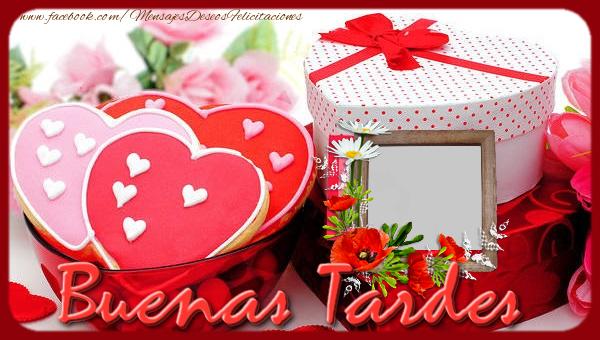 Felicitaciones Personalizadas de buenas tardes - Buonasera!
