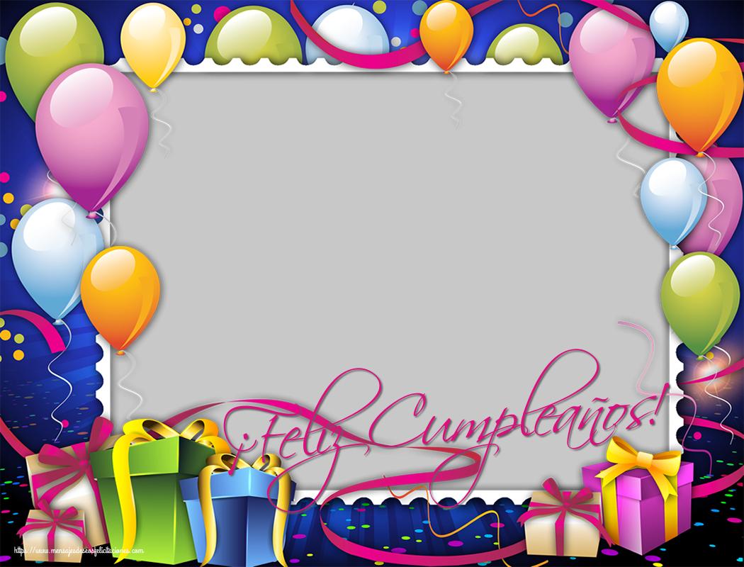 Felicitaciones Personalizadas de cumpleaños - ¡Feliz Cumpleaños!