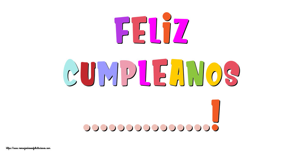 Felicitaciones Personalizadas de cumpleaños - Feliz Cumpleanos ...!