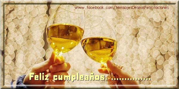 Felicitaciones Personalizadas de cumpleaños - ¡Feliz cumpleaños, ...!