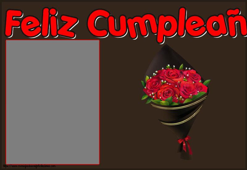 Felicitaciones Personalizadas de cumpleaños - Feliz Cumpleaños! - Marco de foto