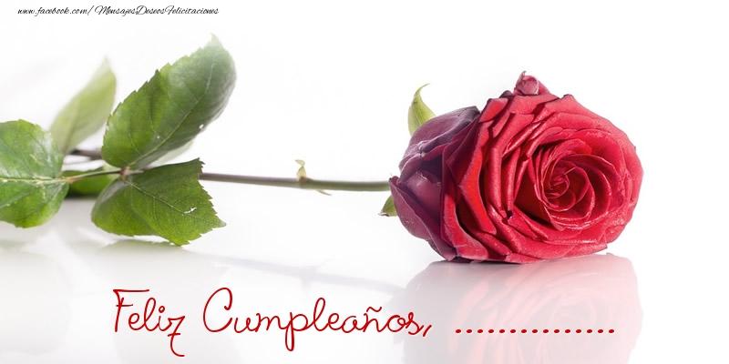 Felicitaciones Personalizadas de cumpleaños - Felicidades, ...!