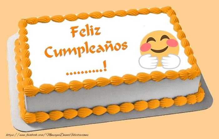 Felicitaciones Personalizadas de cumpleaños - Tarta Feliz Cumpleaños ...!
