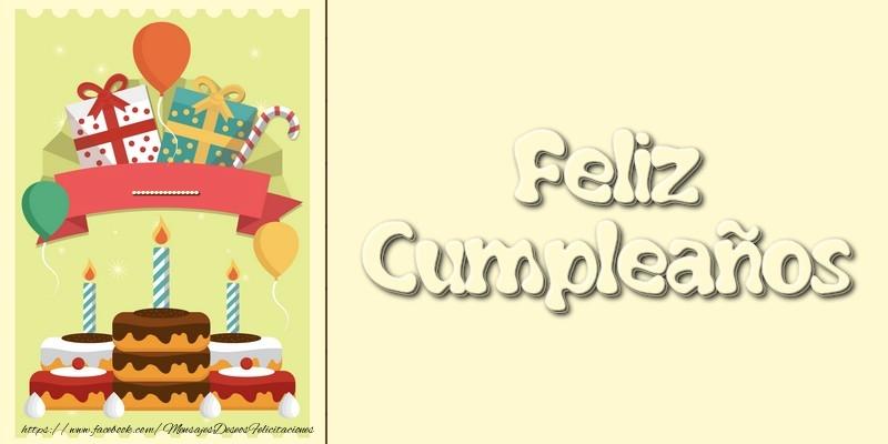 Felicitaciones Personalizadas de cumpleaños - Feliz Cumpleaños...