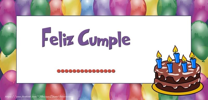 Felicitaciones Personalizadas de cumpleaños - Feliz Cumple ...