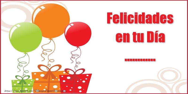 Felicitaciones Personalizadas de cumpleaños - Felicidades en tu Día ...