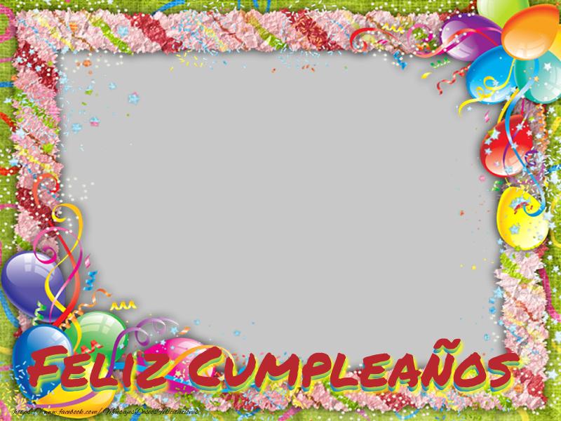 Felicitaciones Personalizadas de cumpleaños - Feliz Cumpleaños