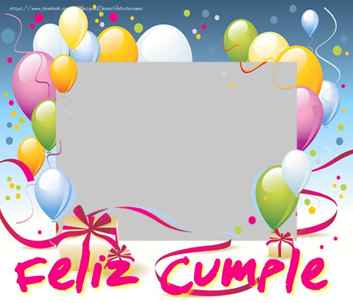 Felicitaciones Personalizadas de cumpleaños - Feliz Cumple