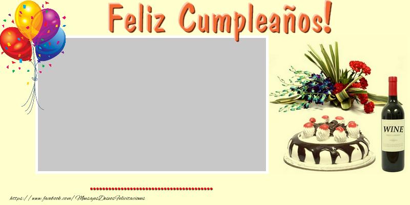 Felicitaciones Personalizadas de cumpleaños - Feliz Cumpleaños ...!