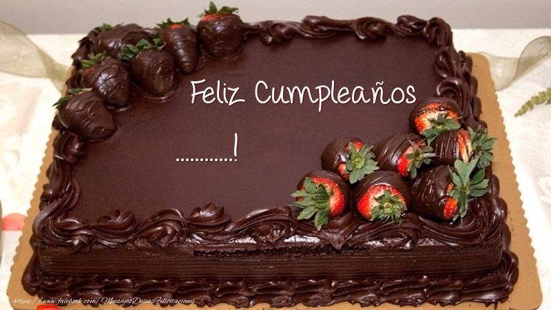 Felicitaciones Personalizadas de cumpleaños - Feliz Cumpleaños ...! - Tarta